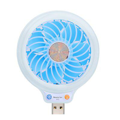 Mini Ventilador Portátil LED