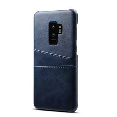 for Samsung Galaxy S9 Plus Cowhide Texture Le...