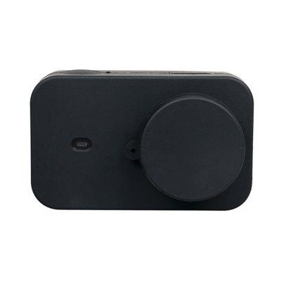 Silicone Housing Case + Lens Cap Cover  for Xiaomi Mijia 4K Mini Action Camera