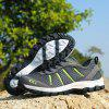 ZEACAVA Grande taille Sports Casual Outdoor Mesh Chaussures - GRIS FONCé
