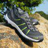 ZEACAVA Large Size Sports Casual Outdoor Mesh Shoes - DARK GRAY