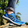 ZEACAVA Large Size Sports Casual Outdoor Mesh Shoes - SKY BLUE