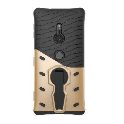 Case for Sony Xpreia XZ2 Shockproof with Stand 360 Rotation Contras