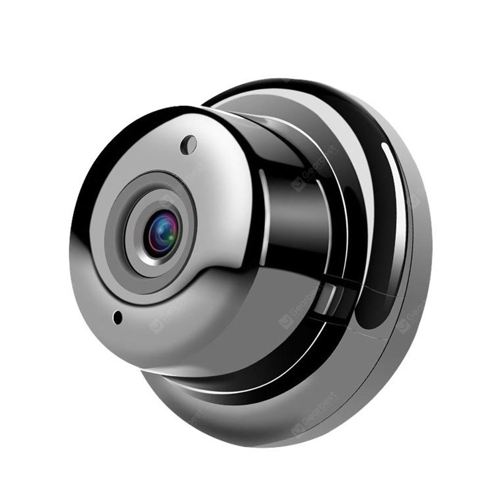 VR Camera IP Mini WiFi 180 Degree Wide Angle Smart Fisheye Indoor Home  Security