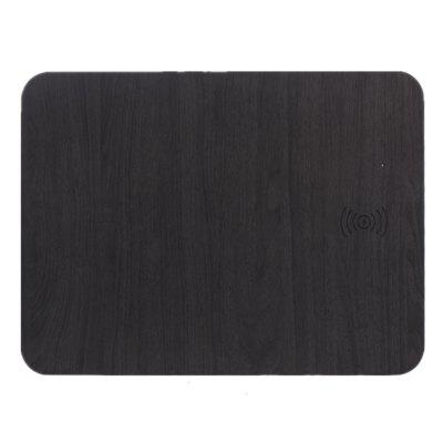 Wireless Mouse Pad Wood Grain Fast Charge