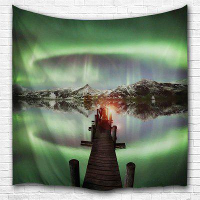 Green Lake 3D Printing Home Wall Hanging Tapestry for Decoration
