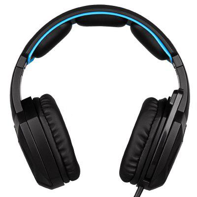 Sades USB Gaming Headphones Spirit Wolf 7.1 Surround Sound Headset W/Mic for PC