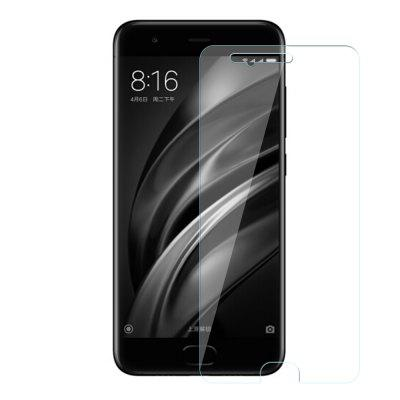Tempered Glass Film Steel Oiled 0.26MM Semi-Screen 2.5D Round Edge Anti-Glare High-Definition 9H for Xiaomi 6