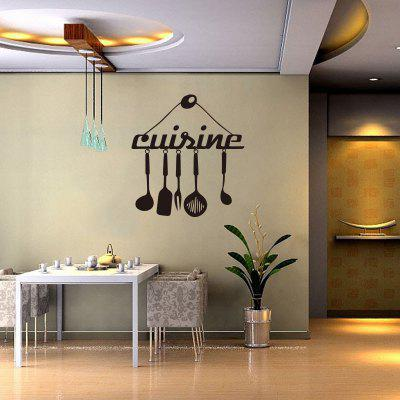 Vinyl Wall Stickers Art Quote Funny Kitchen Decals Mural Home Decoration