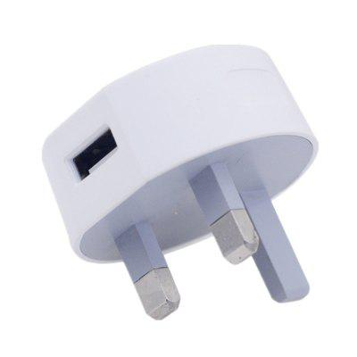 UK Plug USB Wall Charger 5V2A Travel Home Mobile Charging