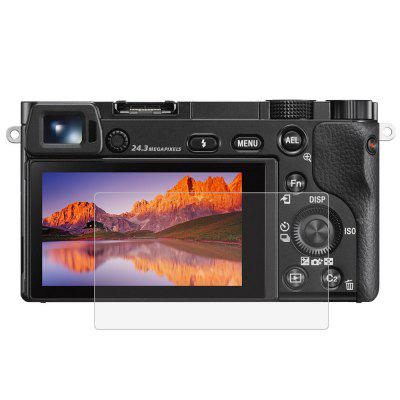 LCD Camera Screen HD Toughened Glass Protective Film for Sony A6000 / A6300