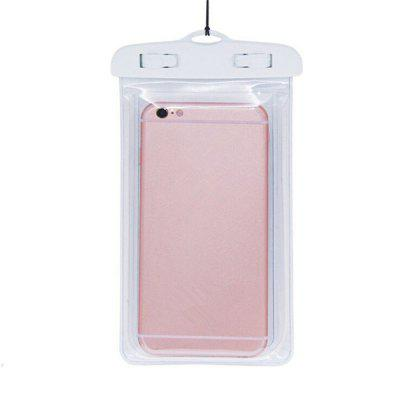 Universal Pouch Waterproof Case Mobile Phone Bag double pocket mobile phone pouch arm bag with velcro strap black