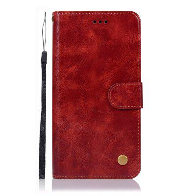 Fashion Flip Leather PU Wallet Cover For Motorola Moto E5 Plus Phone Case