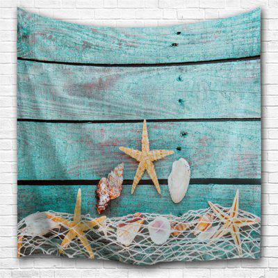 Conch Starfish 3D Printing Home Wall Hanging Tapestry for Decoration