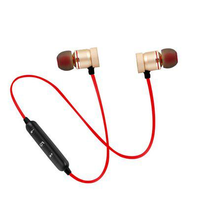 Cwxuan Sports Magnetic Bluetooth V4.1 Stereo Earphone with Microphone