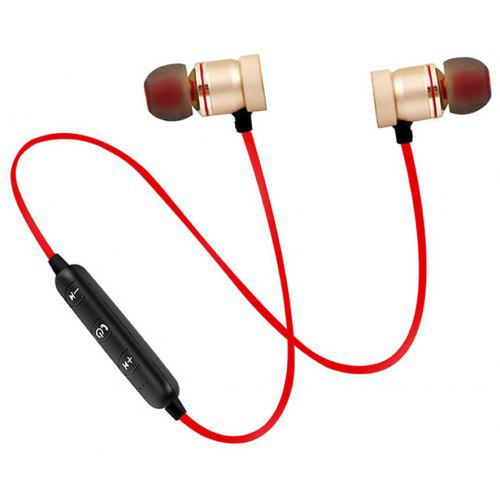 cd0cb77aa4c Cwxuan Sports Magnetic Bluetooth V4.1 Stereo Earphone with Microphone |  Gearbest