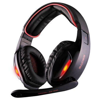 Sades SA-902 7.1 Sound Channel USB Gaming Headset with Mic Voice Control