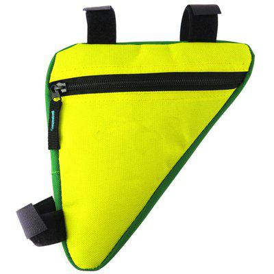 Bike Pouch Waterproof 1.5L Triangle Cycling Front Tube Frame Bag
