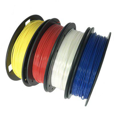 CCTREE 3D Printer PLA 1.75mm 4 Color Pack For Creality CR10 Anet A8 anet 1m gt2 6mm rubber timing belt for 3d printer