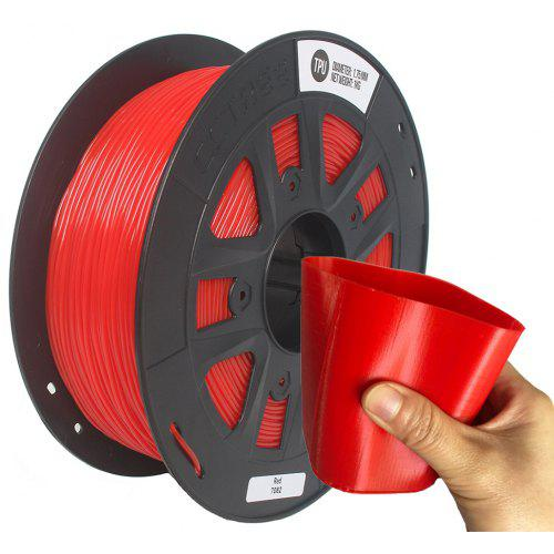 CCTREE 1 75mm TPU Flexible 3D Printer Filament Accuracy 0 05 mm 1KG Spool