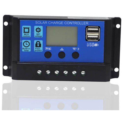 Heimwerker Mppt 30a 12v 24v Solar Panel Battery Charge Controller Regulator Usb 5v Output With The Most Up-To-Date Equipment And Techniques Laderegler