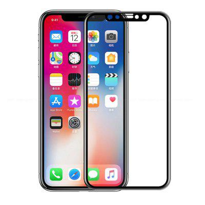 for iPhone X Tempered Film Full Screen Hard Edge