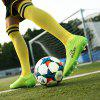 Men Professional Soccer Teenager School Training Outdoor Football Shoes - GREEN YELLOW