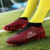 Men Professional Soccer Teenager School Training Outdoor Football Shoes - RED