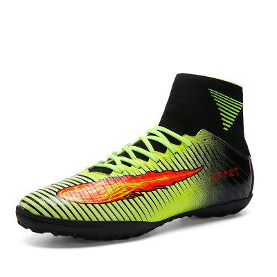 Men Teenage Professional Soccer Ankle Top Training Outdoor Football Shoes