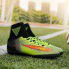 Men Teenage Professional Soccer Ankle Top Training Outdoor Football Shoes - GREEN