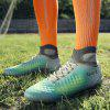 Men Professional Soccer Ankle Top Teenager Training Outdoor Football Shoes - GRAY