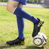 Men Professional Soccer Ankle Top Sport Training Outdoor Football Shoes - BLACK