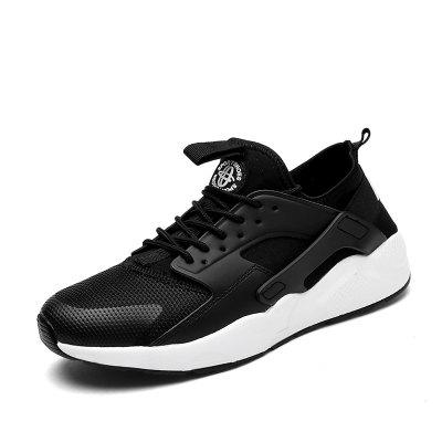 Men Running Breathable Hiking Outdoor Basketball Leisure Sport White Sneakers