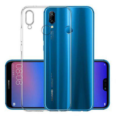 2PCS Transparent TPU Soft Back Case for Huawei P20 Lite / Nova 3E
