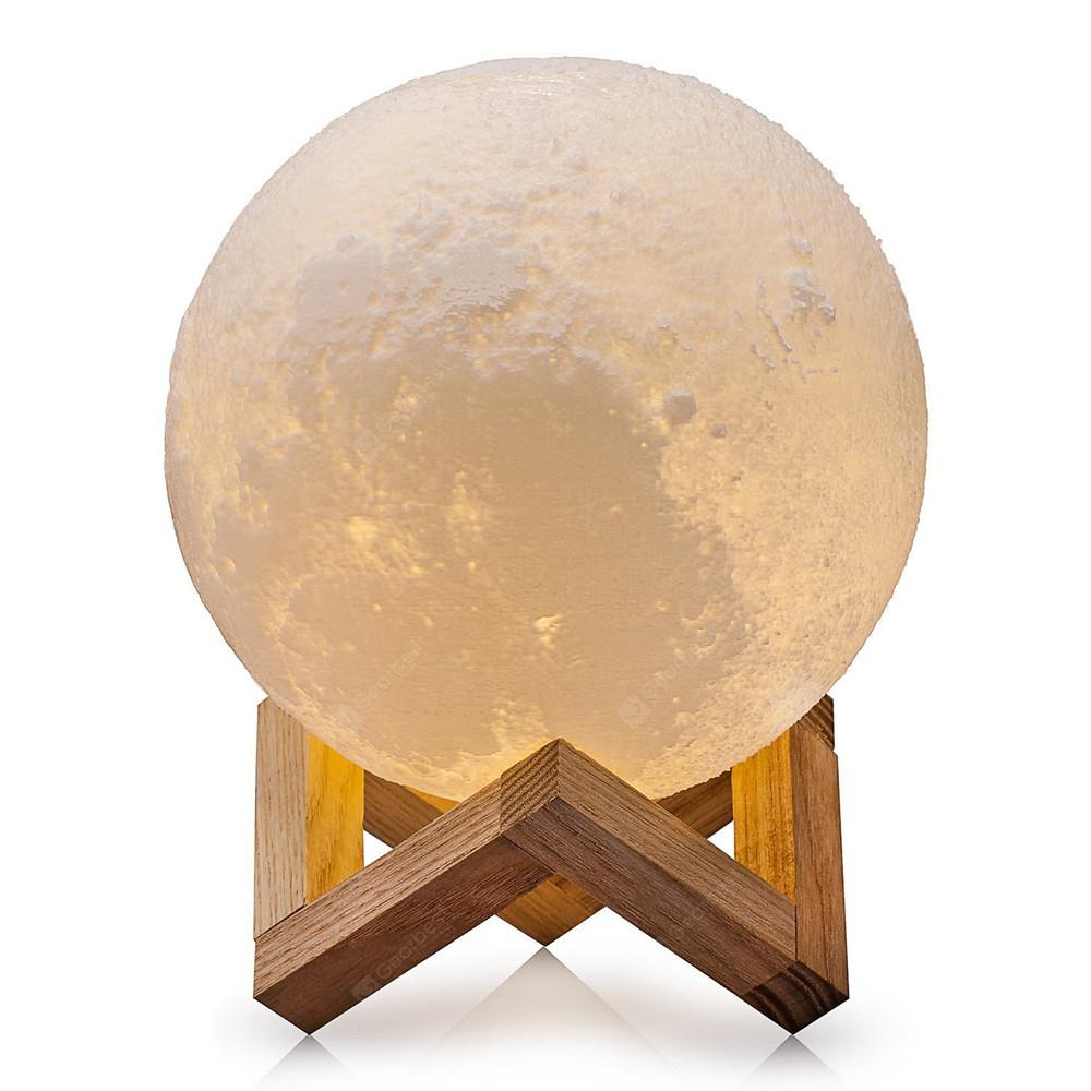3D Moon Lamp Romantic Night Light with 2 Colors