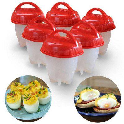 6Pcs Non-Stick Silicone Egg Cup Cooking Cooker