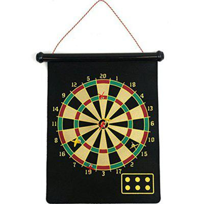 Double Sided Hanging Dart Board Game for Whole Family