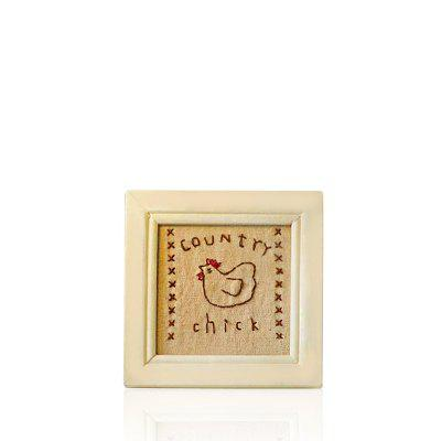 WX-D23-CE-9 Dual Purpose Desktop Hand Embroidery Photo Frame Ornament