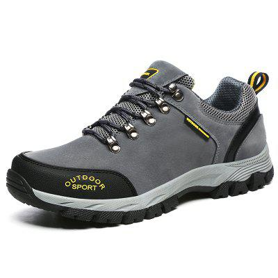 ZEACAVA Sports Leisure Wear Soft Suede Outdoor Hiking Shoes