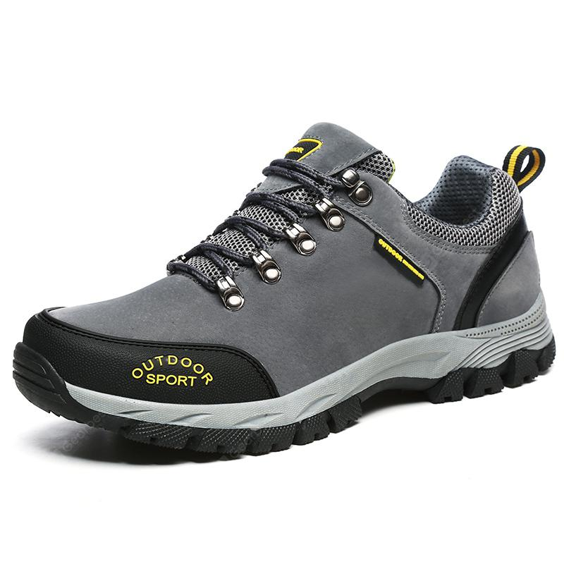 ZEACAVA Sukan Leisure Wear Soft Suede Hiking Shoes Outdoor