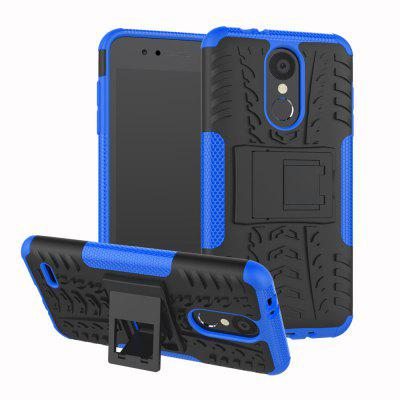 TPU + PC Dual Armor Cover with Stand For LG K8 2018