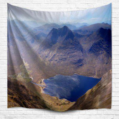 Mountain Lake Water 3D Printing Home Wall Hanging Tapestry for Decoration