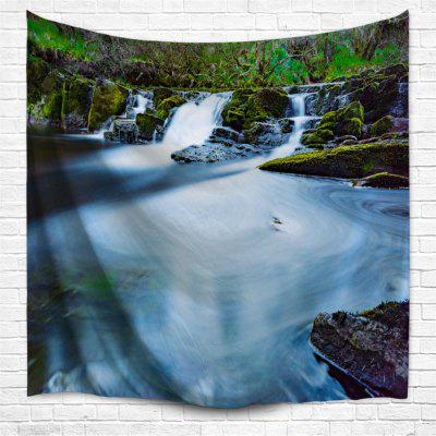 Magnificent Waterfall 3D Printing Home Wall Hanging Tapestry for Decoration