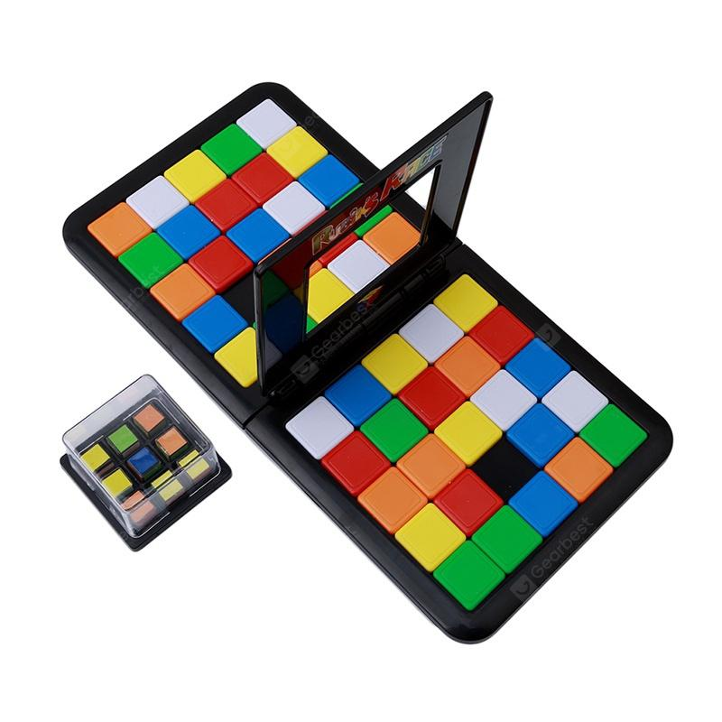 Rubik Race Board Game the Ultimate to Face Strategy Puzzle Kid Xmas Toy
