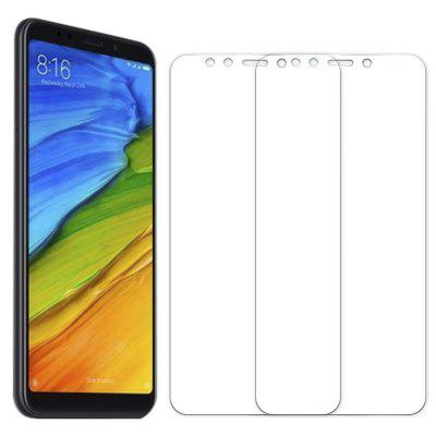 gocomma 2PCS Screen Protector for Xiaomi Redmi 5 Plus HD Full Coverage High Clear Premium Tempered Glass