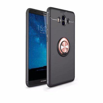 For Hawei Mate 10 Case Hybrid Dual Layer 360 Degree Rotating Ring Kickstand