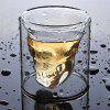 75ML Transparent Glass Mugs Magic Beer Cups - TRANSPARENT