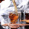 Magic Transparent Glass Mugs Coffee Cups Bilayer Bar Wine Beer Drinkware - TRANSPARENT