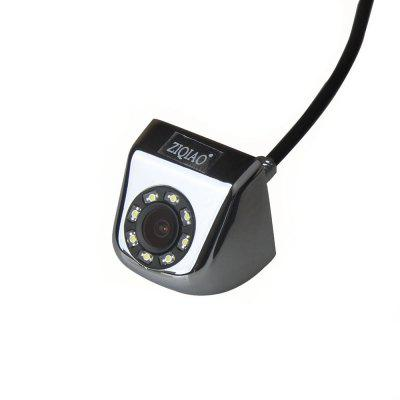 ZIQIAO 8 LED Lights Night Vision Waterproof Car Rear View Camera