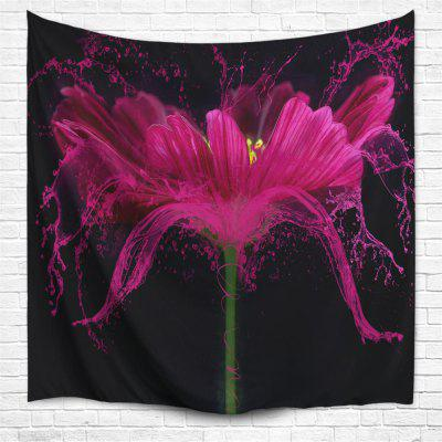 Flower Splash 3D Printing Home Wall Hanging Tapestry for Decoration